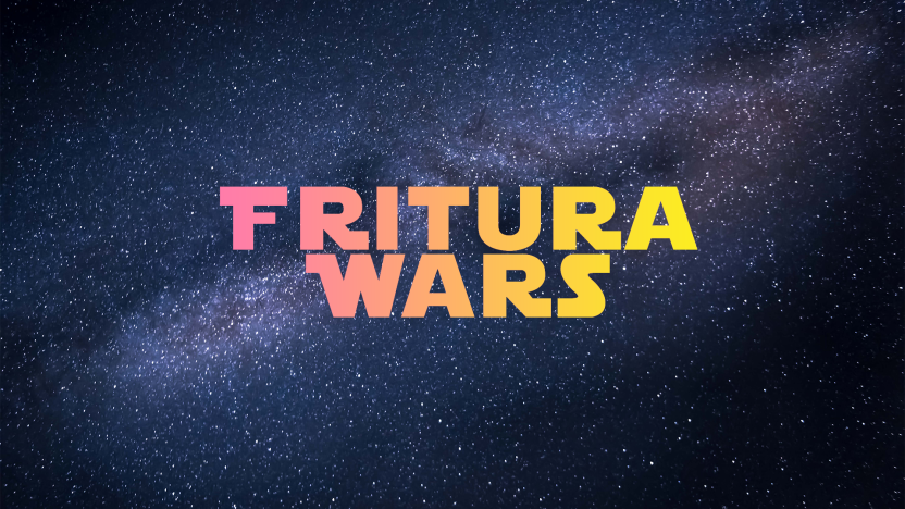 Fritura, Fritura Wars, Logo, Space, FoodieSpace