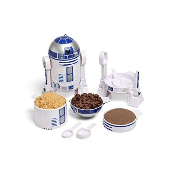 Star Wars R2-D2 Measuring Cup Set (Exclusive and Officially Licensed) amazon