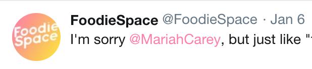 Tweet, pink, foodiespace